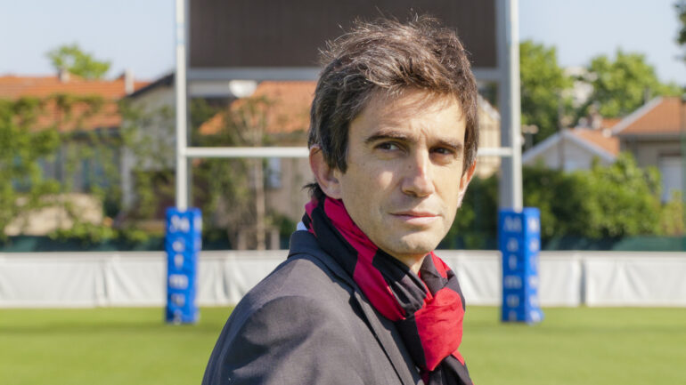 Yann Roubert, président du Lou Rugby © Tim Douet – 2015