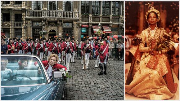 © Jeff Pachoud // Robe de mariée signée YSL (montage LC)