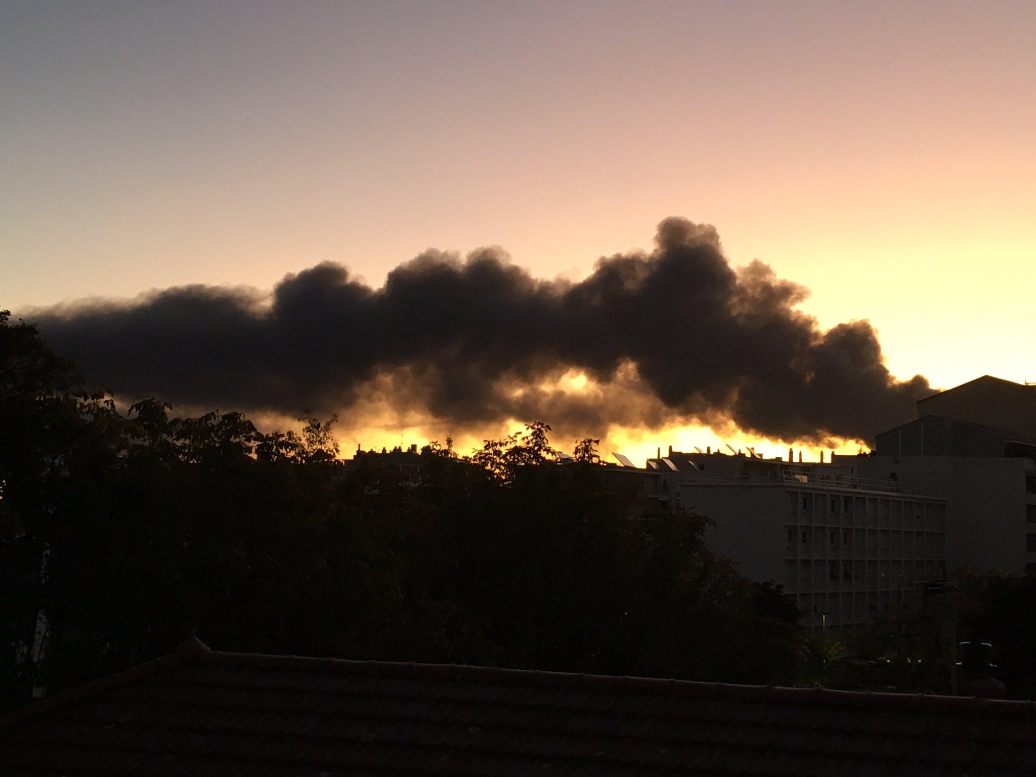 Incendie à Villeurbanne : de nouvelles mesures sur la qualité de l'air