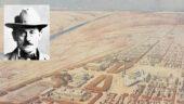 """Tony Garnier et son projet de """"cité industrielle"""" [Une cité industrielle 3 SAT 2 / Gilles Bernasconi / Crédit photographique (reproduction) / Archives municipales de Lyon] (montage LC)"""