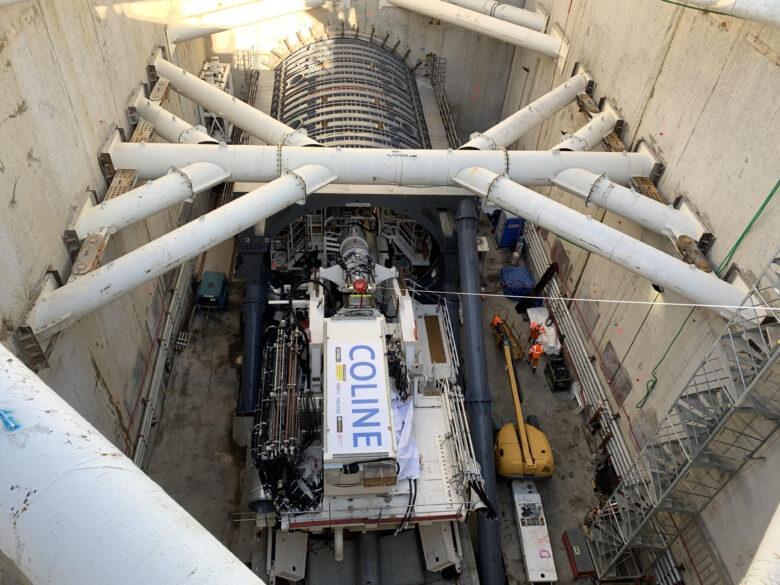 Lyon TCL : où en est le chantier du prolongement métro B ? |