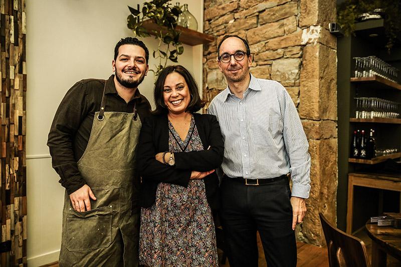 """L'équipe du restaurant """"Rustique"""" – Lyon © Antoine Merlet"""