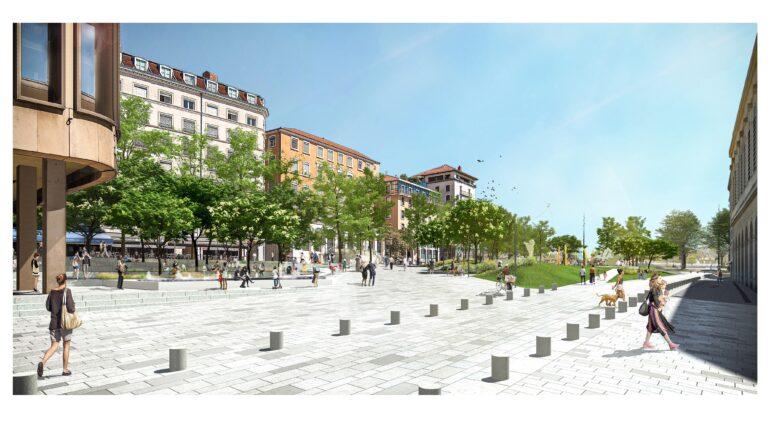 Future place Louis-Pradel