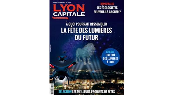 Une du mensuel Lyon Capitale de décembre 2019 (n°794)