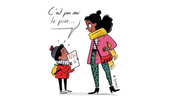 Dessin rubrique Education Lyon Capitale 794 © Isacile