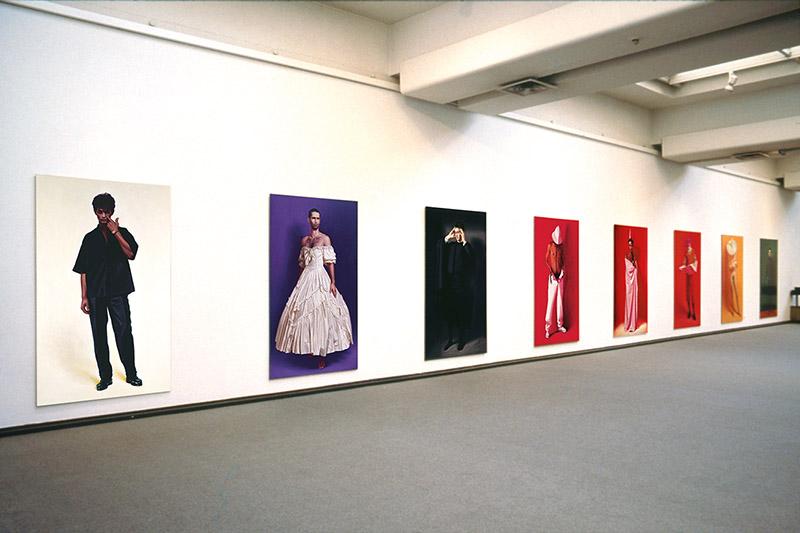 Vue de l'exposition Hommes/Männer d'Anke Doberauer © A,Doberauer / Kunsthalle Düsseldorf