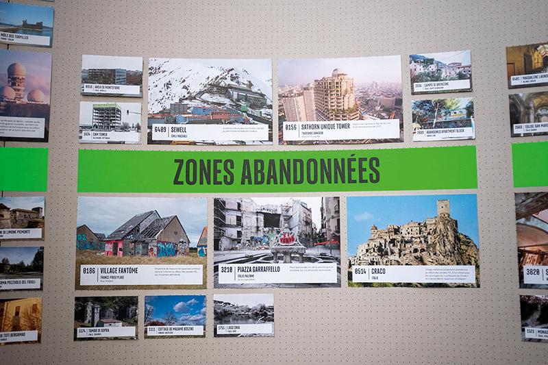 Des milliers d'ici – Atlas de lieux infinis © Adrien Pinon / Halles du Faubourg