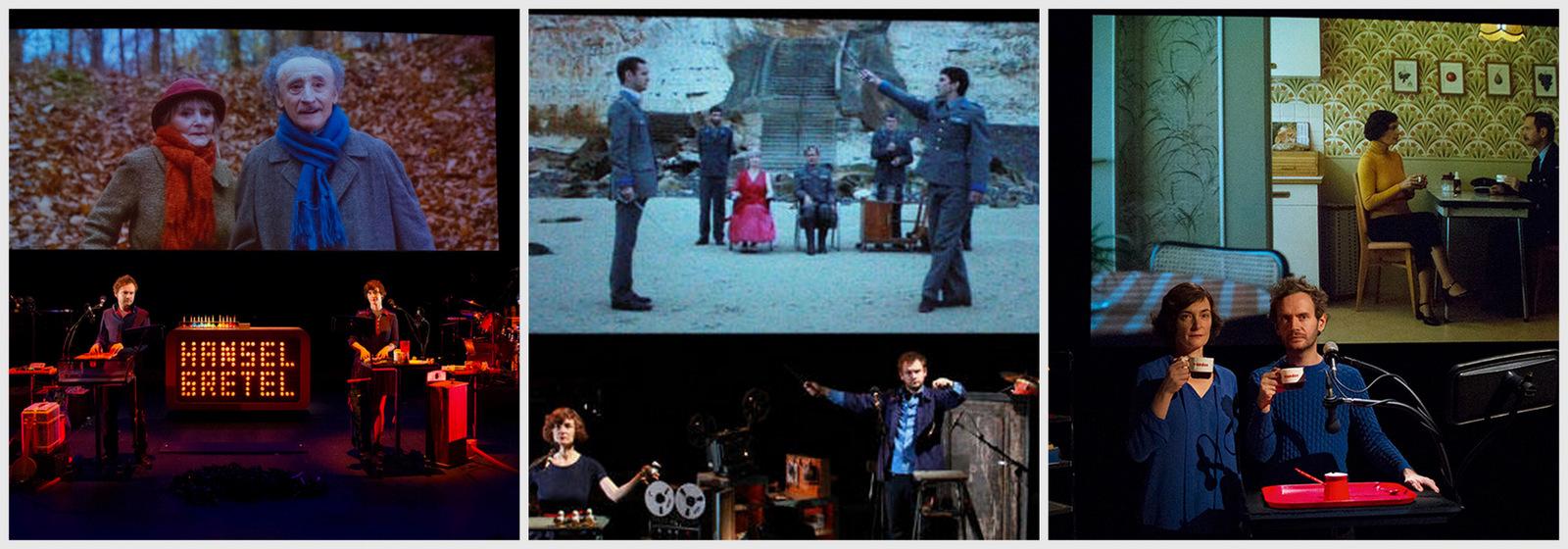 Hansel & Gretel, (Super) Hamlet, Blanche-Neige ou la chute du mur de Berlin © Sébastien Dumas (montage LC)