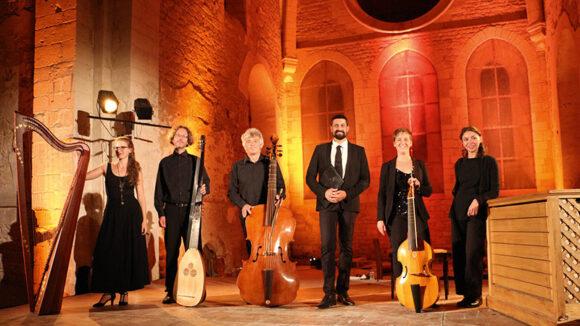L'ensemble Céladon, dirigé par Paulin Bündgen © Céladon – 2018