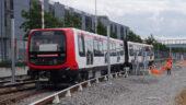 Nouvelle rame du métroB © Sytral 2019