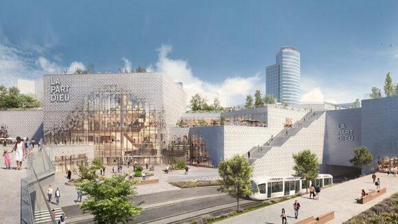 Projet de rénovation du centre commercial de la Part-Dieu © DR
