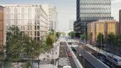 Réaménagement du boulevard Vivier-Merle (dessin d'archi)