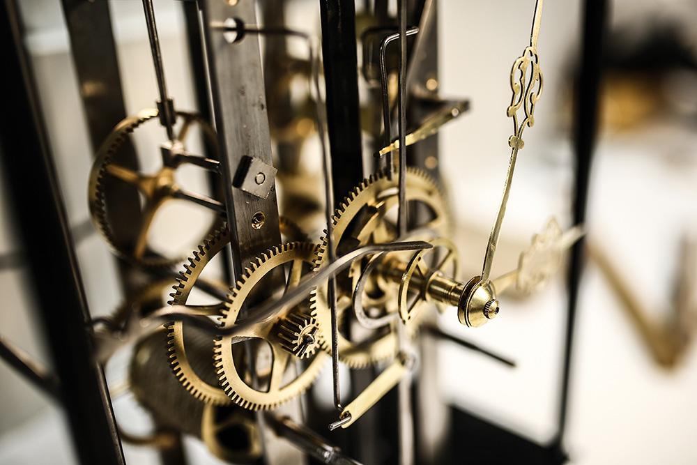 Dans l'atelier de François Simon-Fustier © Antoine Merlet