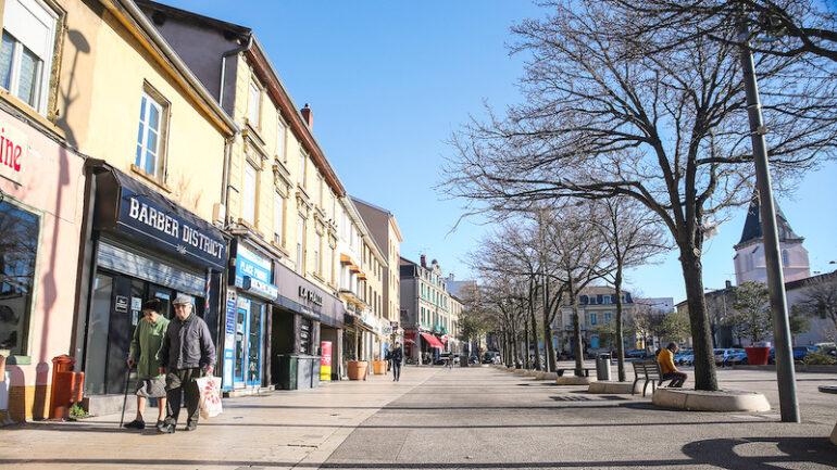 Centre-ville de Vénissieux © Antoine Merlet