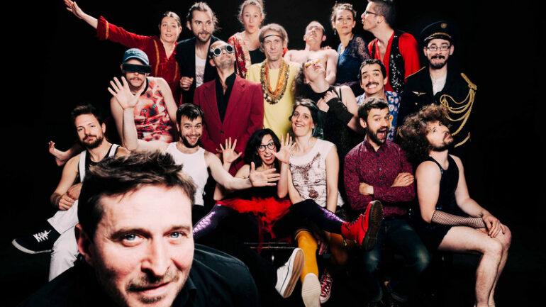 Loïc Lantoine et le Very Big Experimental Toubifri Orchestra © DR
