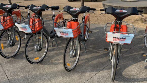E-vélo'v à Lyon
