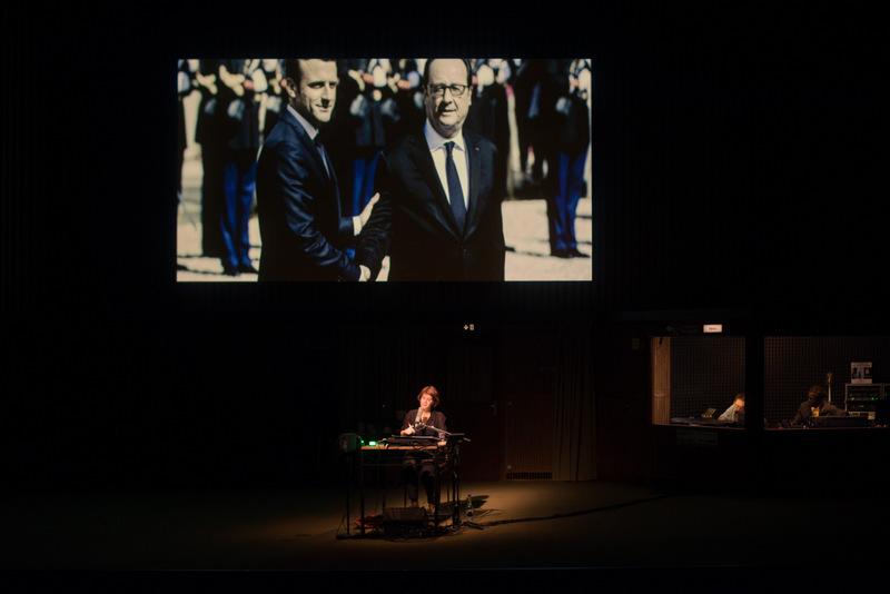 Retour à Reims – Mise en scène Thomas Ostermeier © Mathilda Olmi / Théâtre Vidy Lausanne