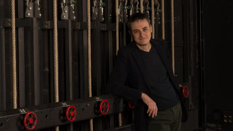 Jean Lacornerie, au théâtre de la Croix-Rousse en janvier 2020 © Jérôme Poulalier