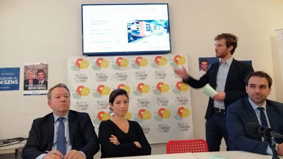Andrea Kotarac présente ses têtes de liste pour les élections métropolitaines de 2020