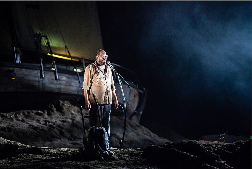 Les Naufragés – Mise en scène Emmanuel Meirieu © Pascal Chantier