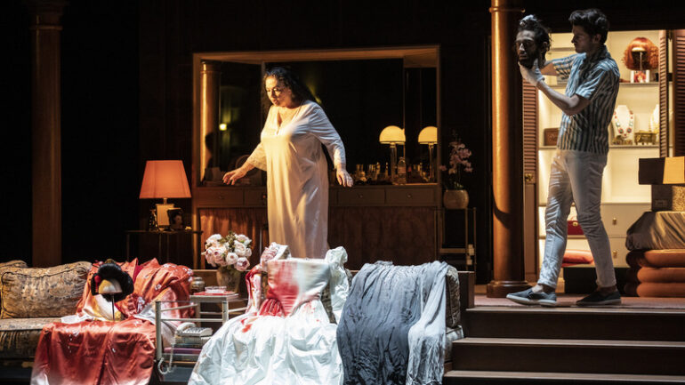 Tosca, de Puccini – Mise en scène Christophe Honoré © Jean-Louis Fernandez