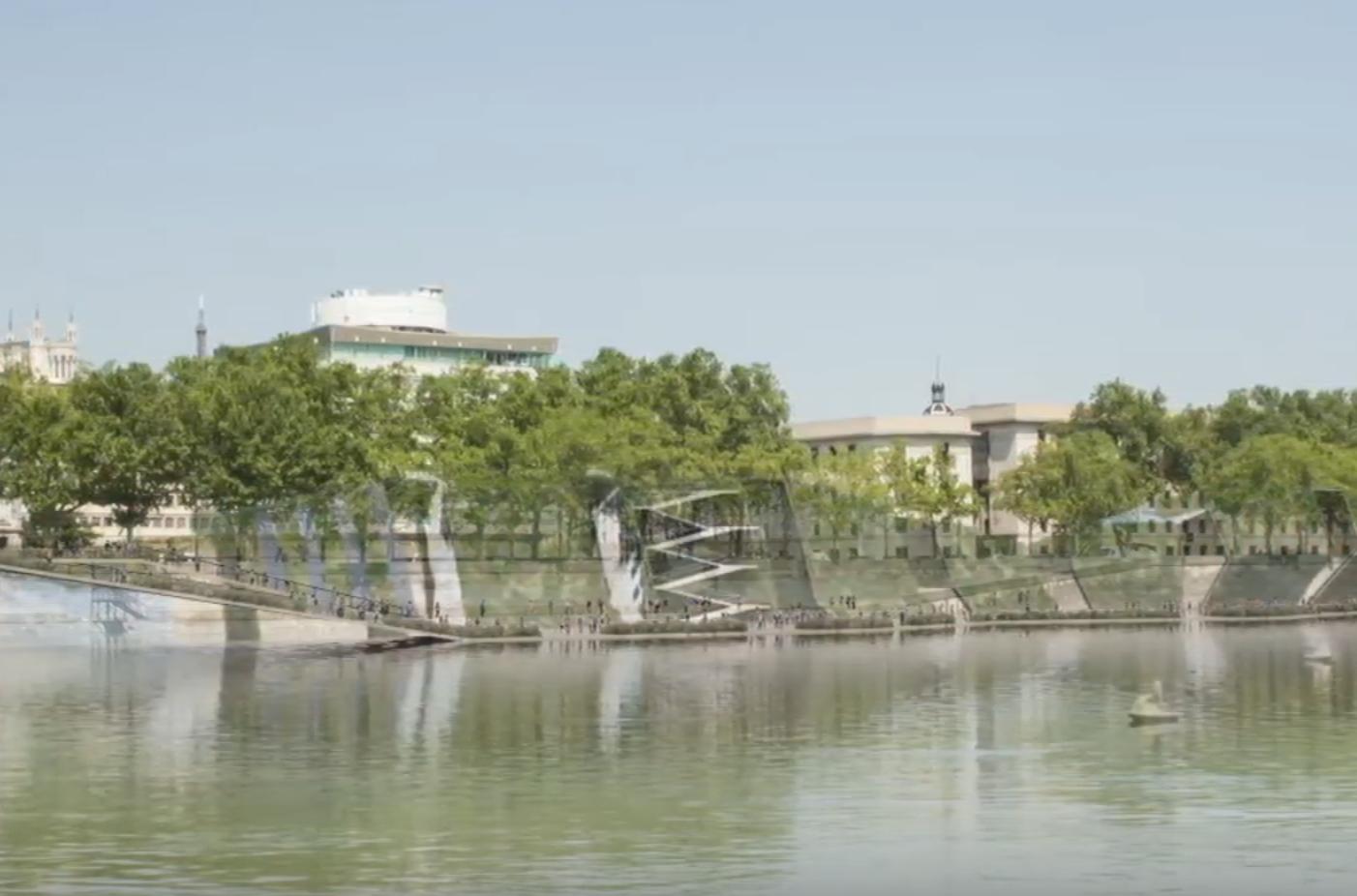 Le projet d'Etienne Blanc pour les berges du Rhône