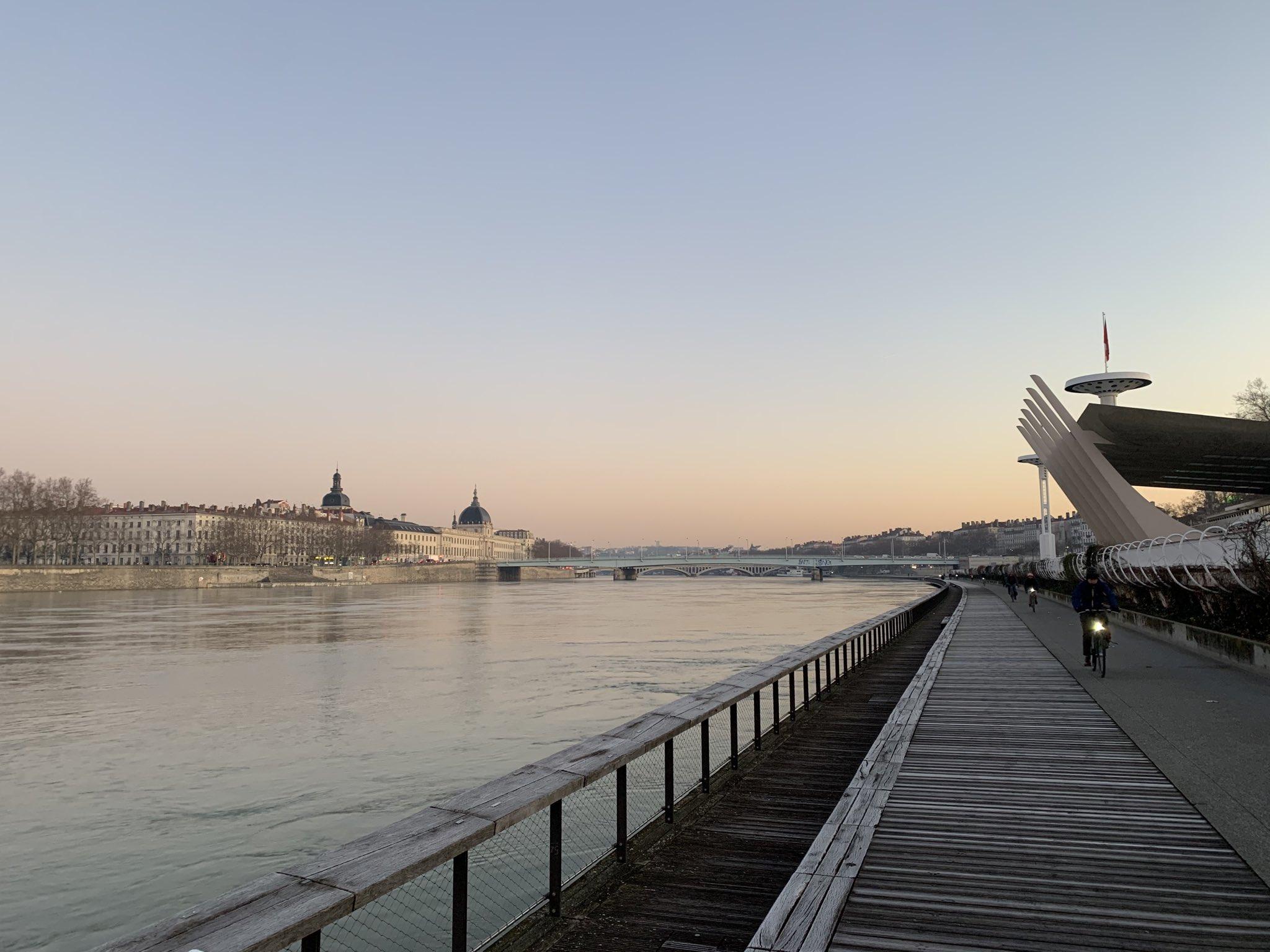 Berges du Rhône à Lyon