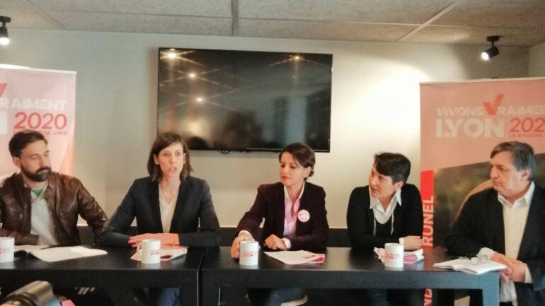 Najat Vallaud-Belkacem à Lyon pour soutenir Sandrine Runel, candidate PS aux municipales