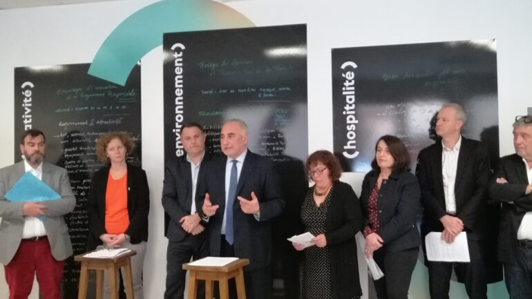 Georges Képénékian présente son projet pour Lyon
