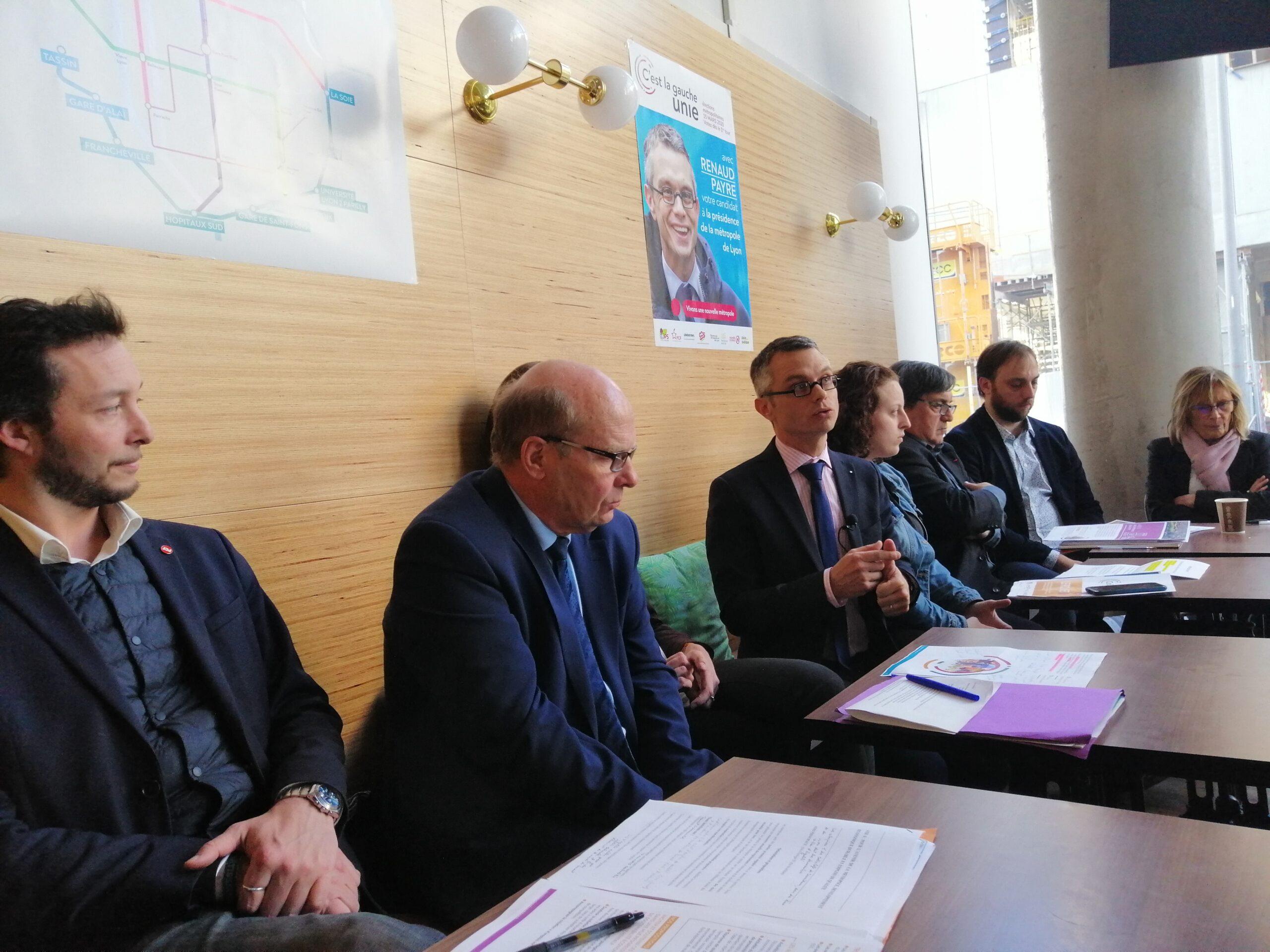 Renaud Payre présente le programme de la gauche unie