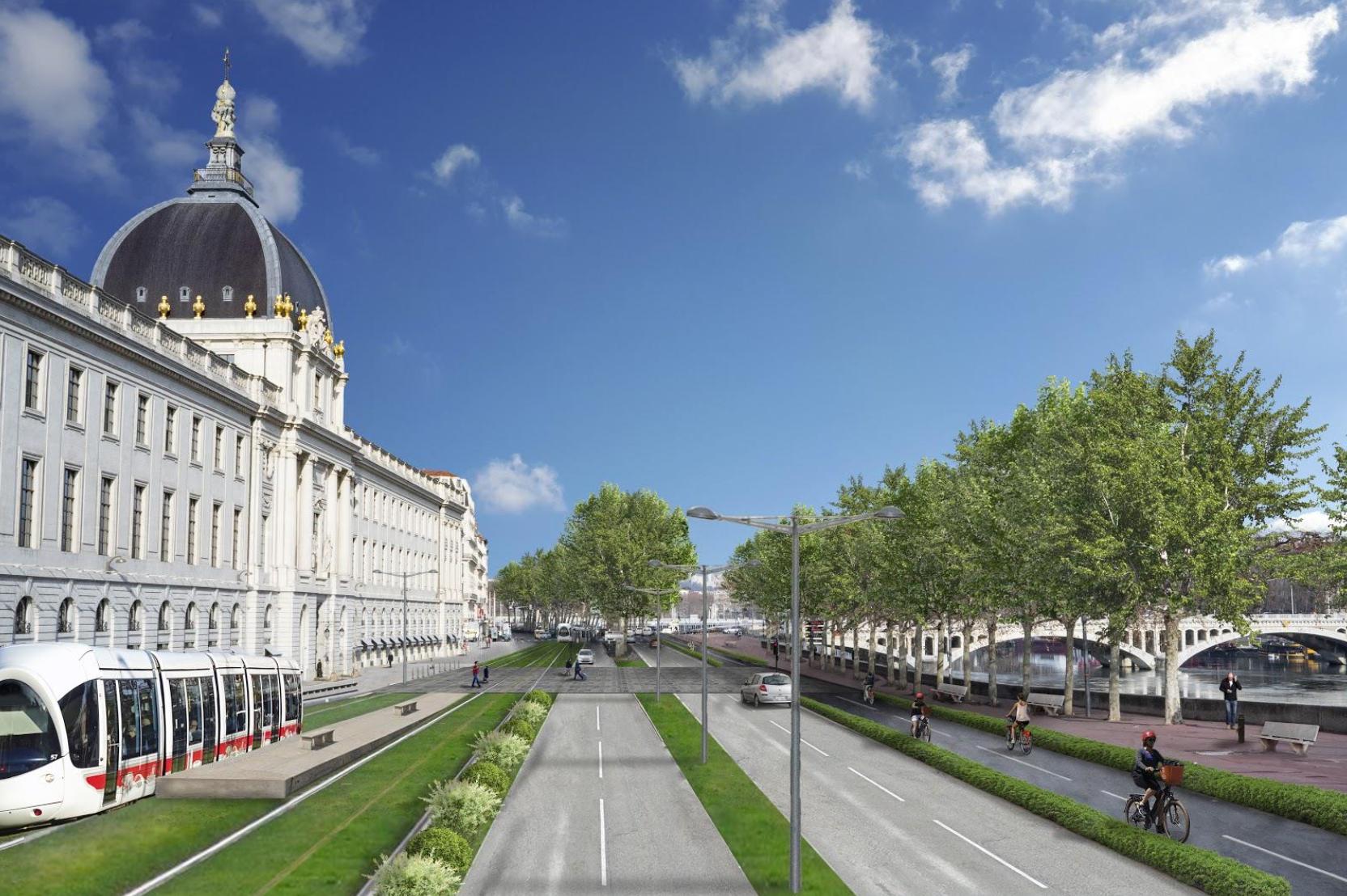 Le projet de tramway des écologistes