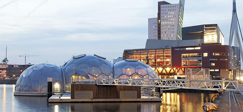 Pavillon flottant de Rotterdam