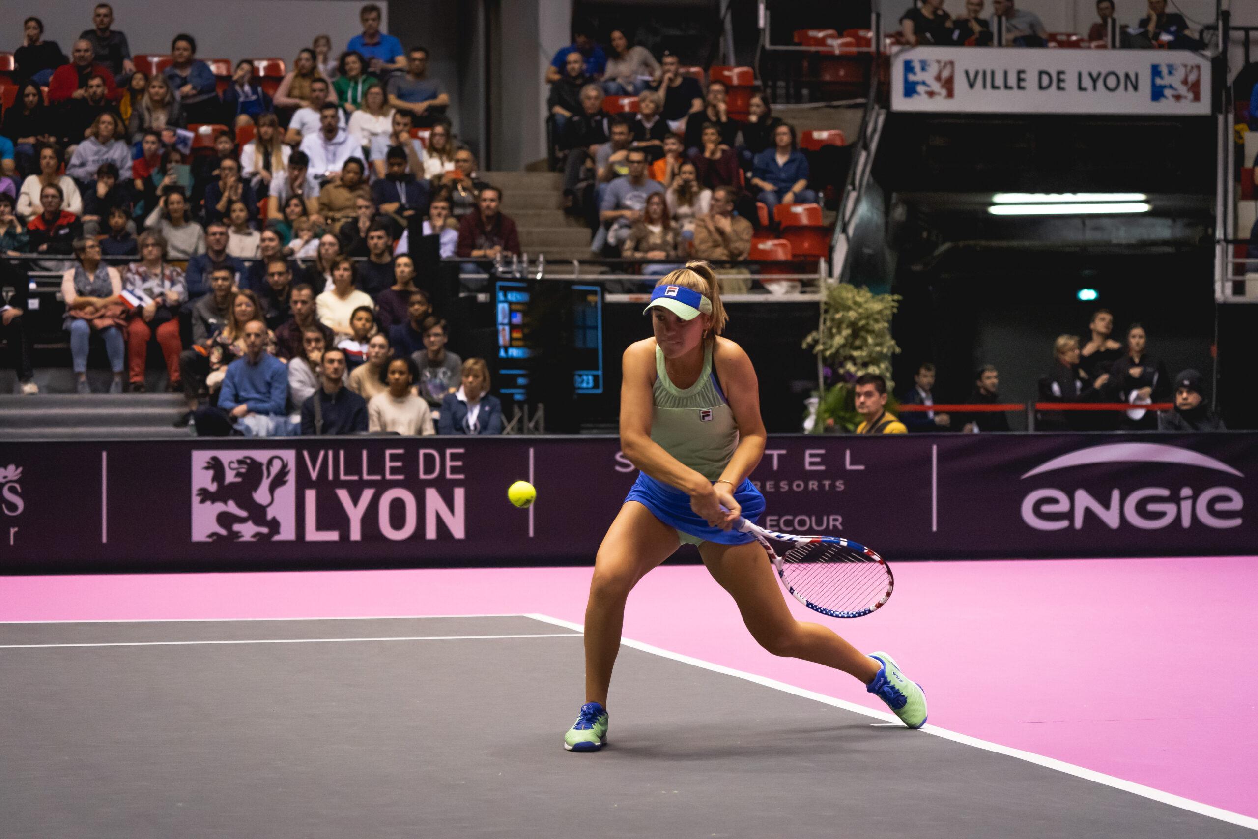 Tennis : une Lyonnaise numéro 6 mondiale chez les jeunes