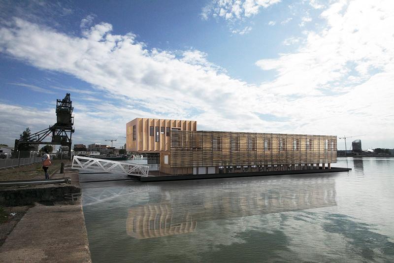 Bureaux flottants à Bordeaux (CARMO) 2PM Architectures