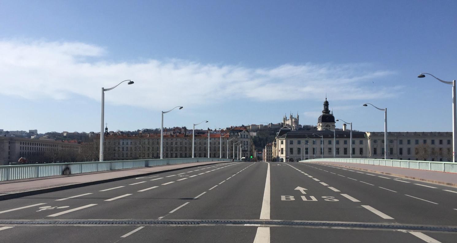 coronavirus : Lyon désertée