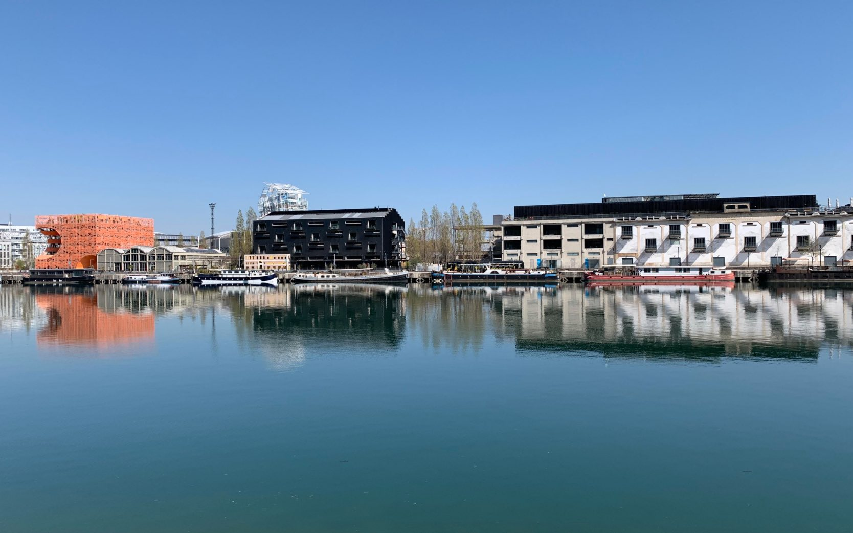 Lyon confluence durant le confinement