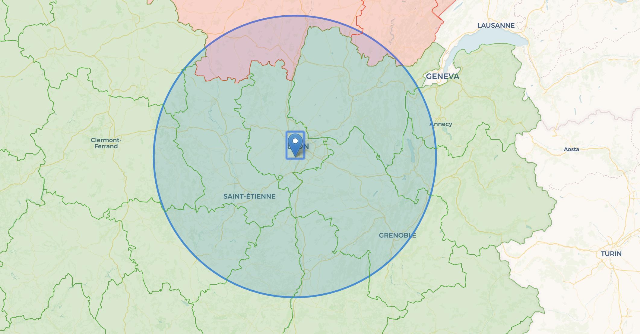 Il Est Possible De Depasser Le Rayon De 100 Km Mais Pas A Lyon