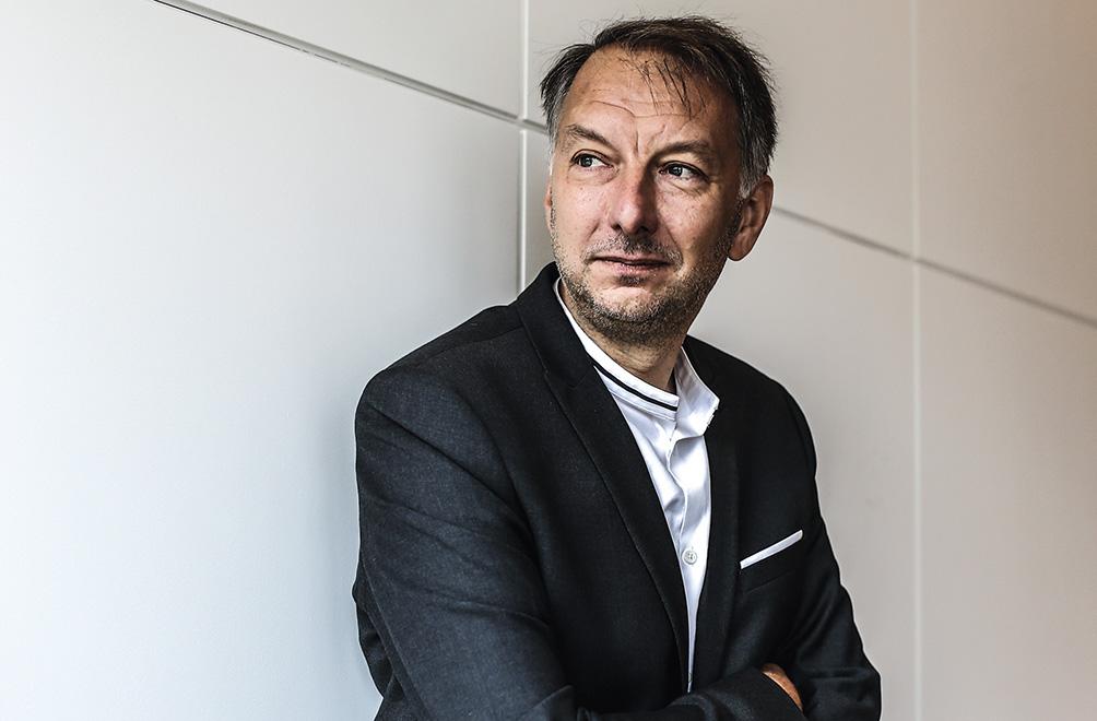 Bruno Bernard, président de la Métropole de Lyon © Antoine Merlet
