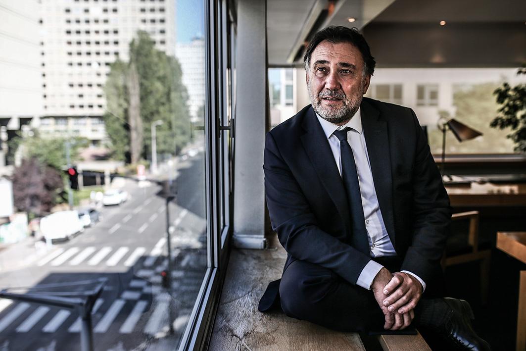 Thierry Gardon, président du tribunal de commerce de Lyon © Antoine Merlet