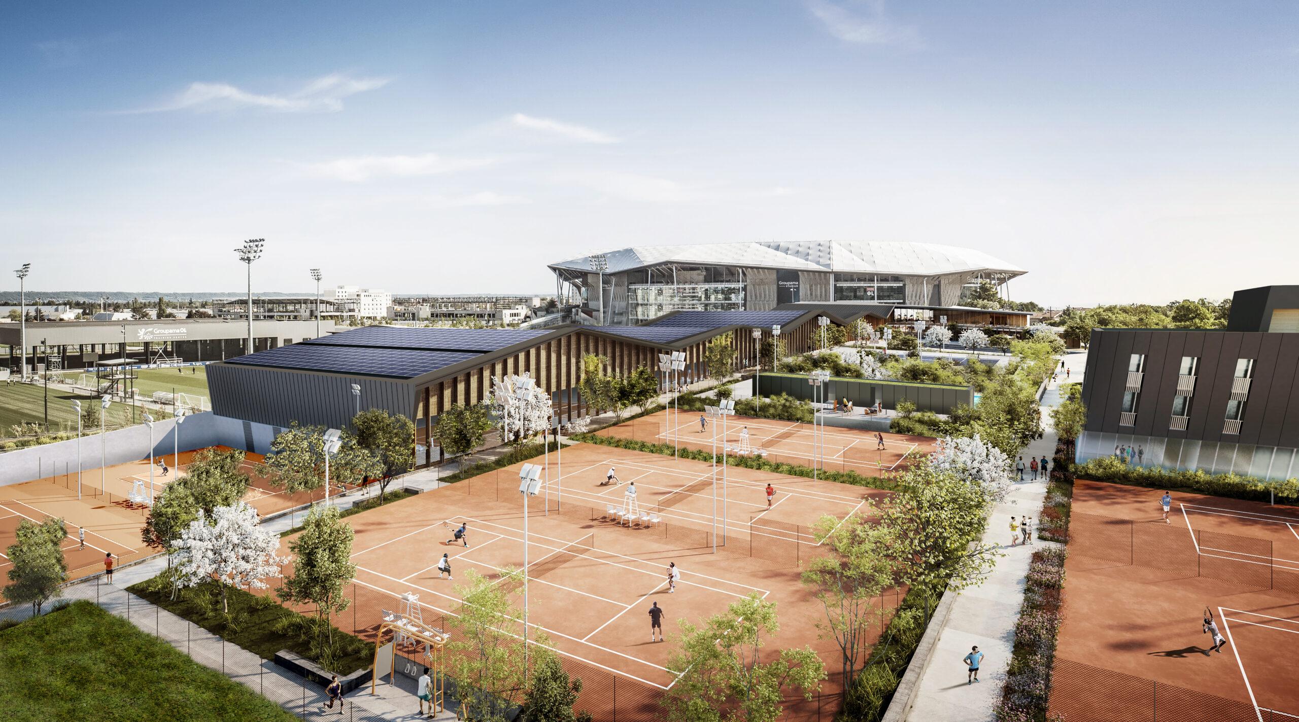 Académie de tennis OL