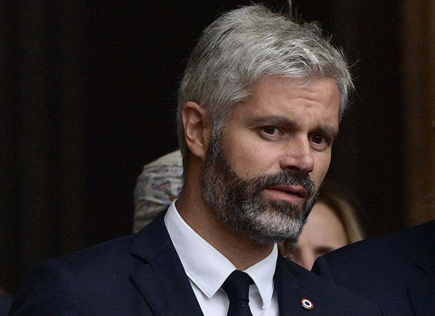 Laurent Wauquiez, président LR de la région Auvergne-Rhône-Alpes © AFP