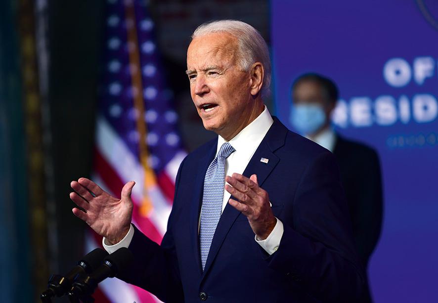 Les grands électeurs doivent désigner Joe Biden président des Etats-Unis d'Amérique ce lundi 14 décembre © AFP