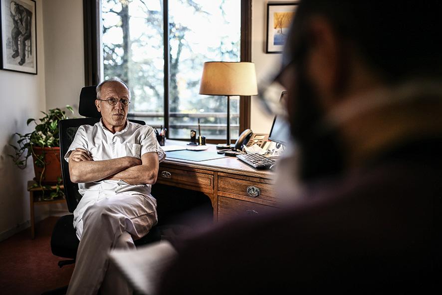 Emmanuel Venet, psychiatre au Vinatier © Antoine Merlet