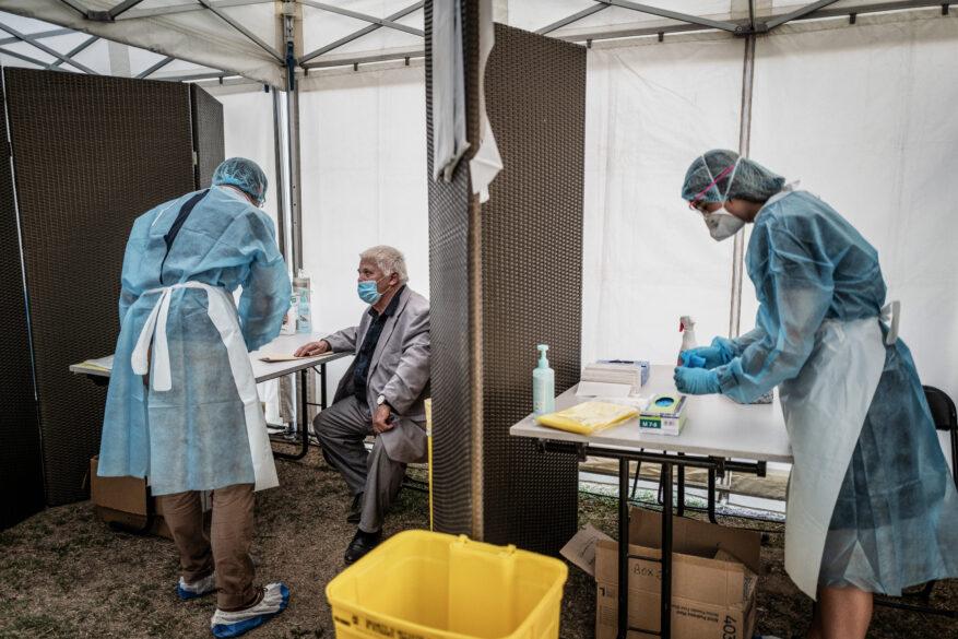 Coronavirus à Lyon : baisse assez sensible depuis 15 jours du nombre de nouveaux cas dans la région (graphique) - LyonCapitale.fr