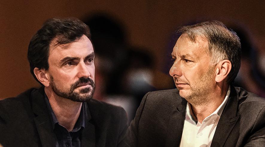 Grégory Doucet et Bruno Bernard © Antoine Merlet