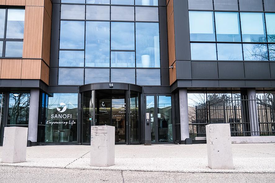 Le siège de Sanofi Pasteur, à Lyon