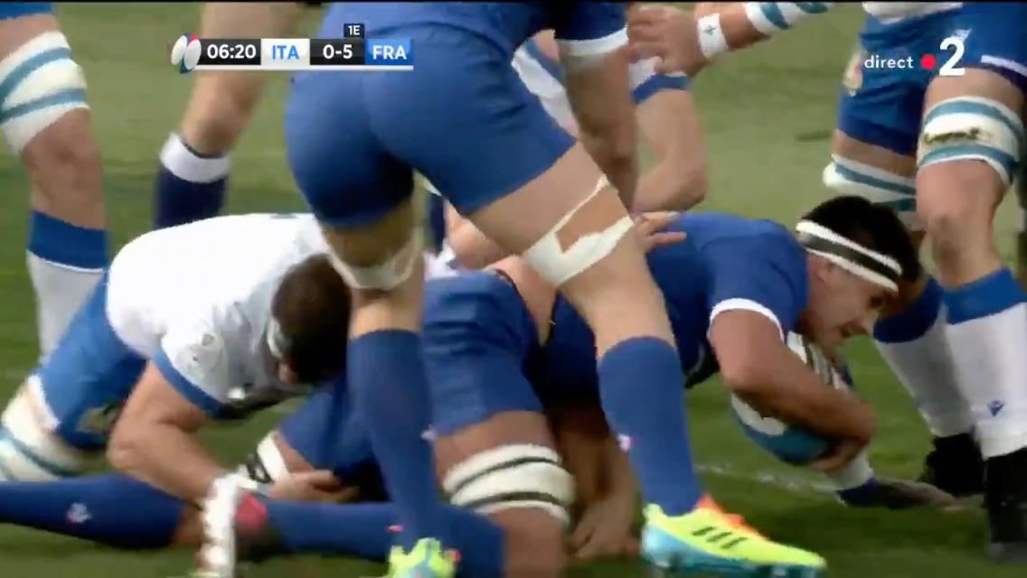 Dylan Cretin - XV de France - Capture d'écran