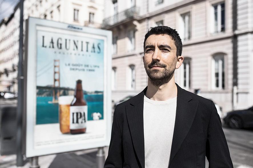 Benjamin Badouard, coprésident du groupe EELV à la métropole de Lyon © Antoine Merlet