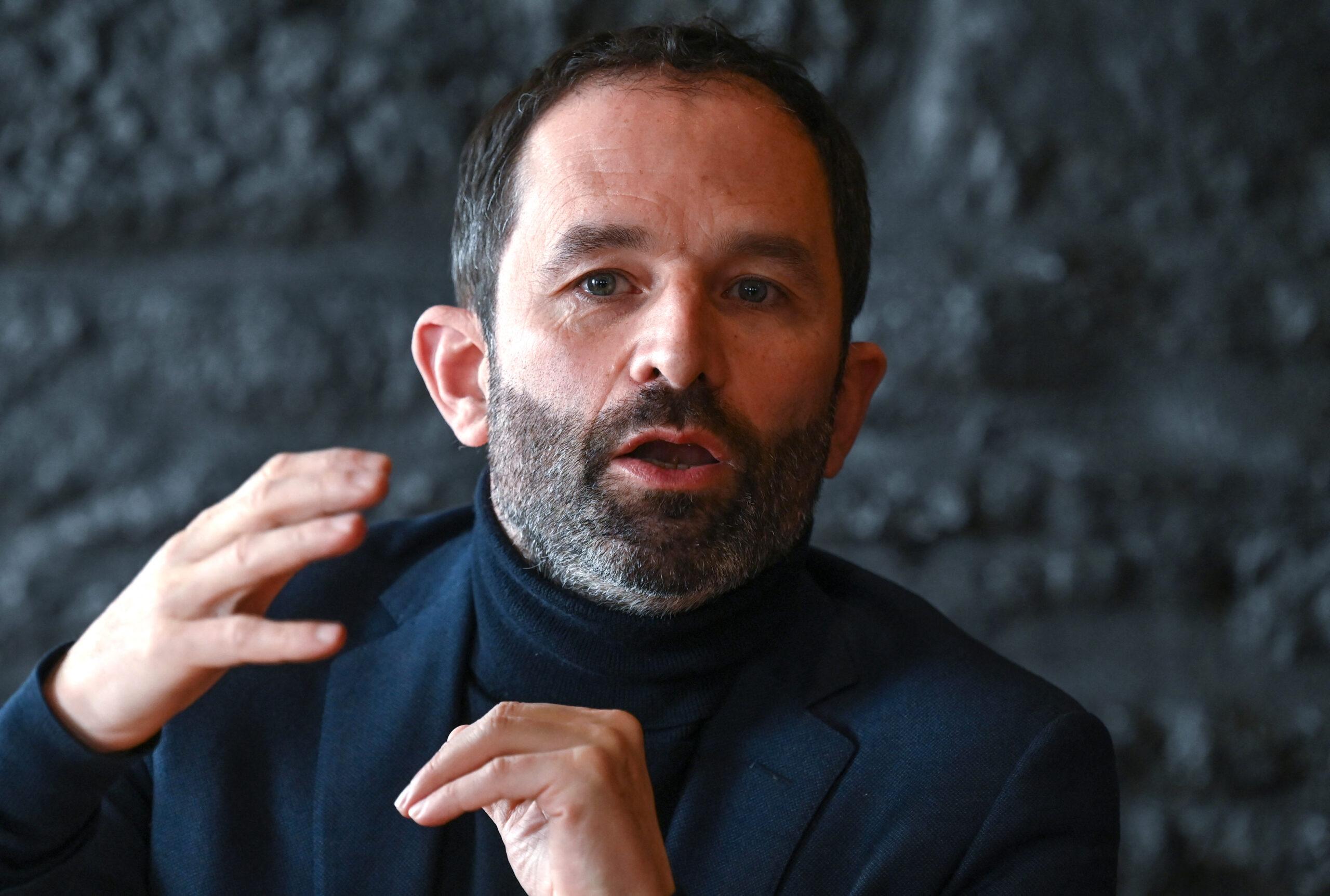 Benoît Hamon, à Lyon