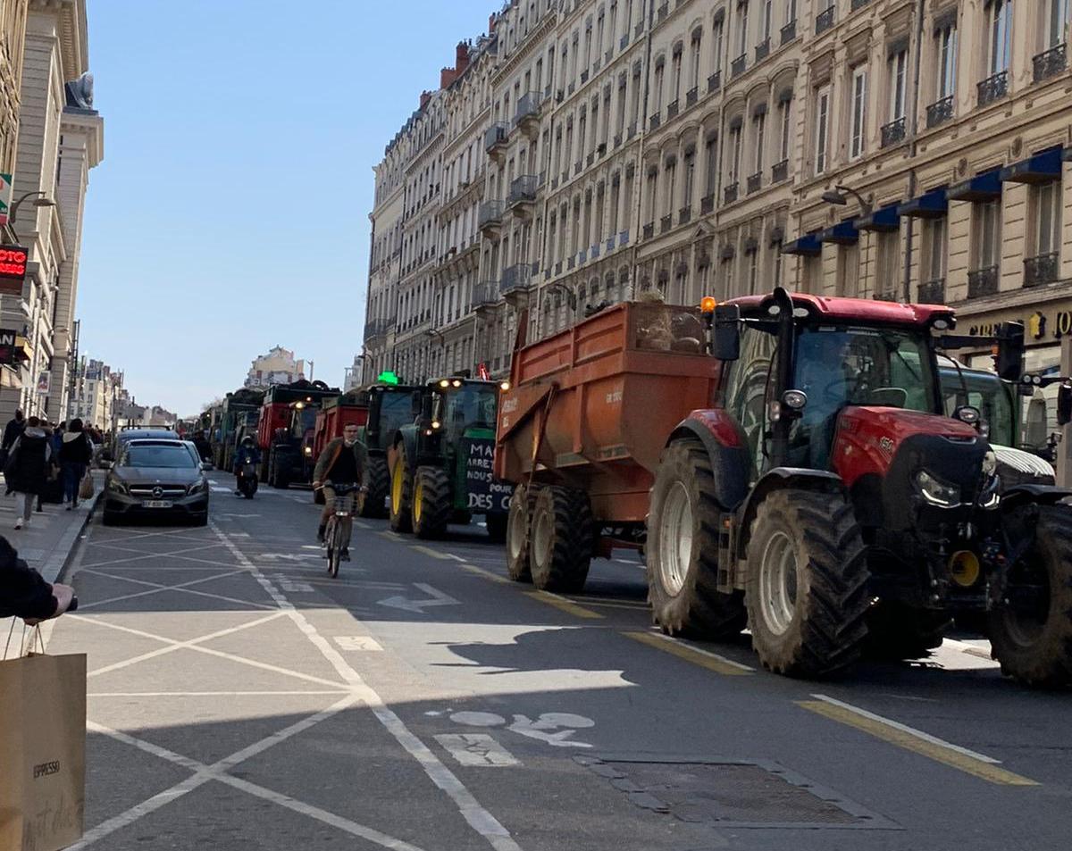 Les agriculteurs manifesteront à 14h30